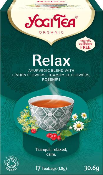 Bio Relax Yogi Tea 17 x 1,8 g