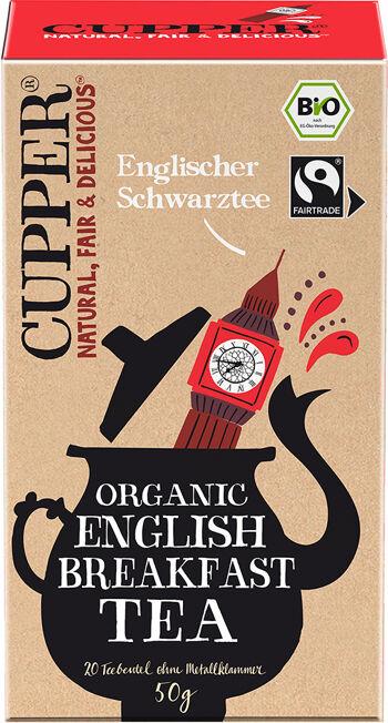 Bio černý čaj English Breakfast Cupper 50 g