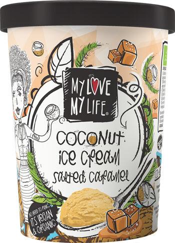 Bio kokosová zmrzlina Karamel vegan My Love My Life 500 ml