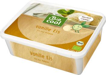 Bio smetanová zmrzlina vanilková BioCool 1 l