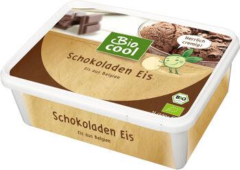 Bio smetanová zmrzlina čokoládová BioCool 1 l