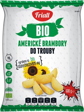 Bio americké brambory mražené Friall 600 g