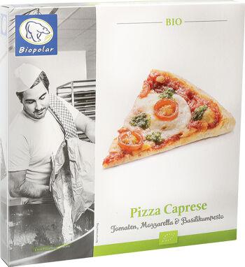 Bio pizza Caprese mražená Biopolar 360 g