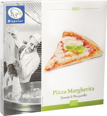 Bio pizza Margherita mražená Biopolar 310 g