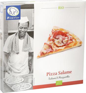 Bio pizza Salame mražená Biopolar 330 g