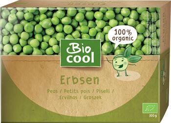 Bio hrášek mražený BioCool 300 g
