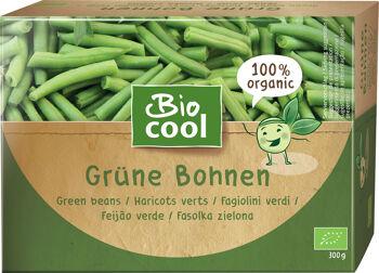 Bio zelené fazolky mražené BioCool 300 g