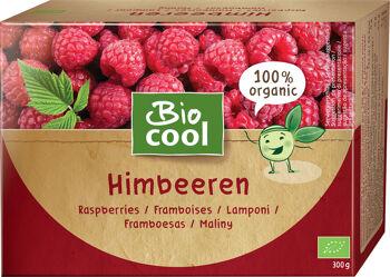 Bio maliny mražené BioCool 300 g