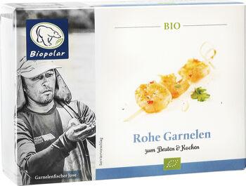 Bio krevety syrové mražené Biopolar 150 g