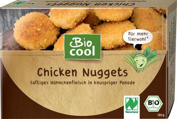 Bio kuřecí nugety mražené BioCool 180 g