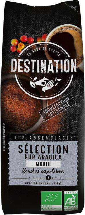 Bio káva mletá Selection Destination 250 g