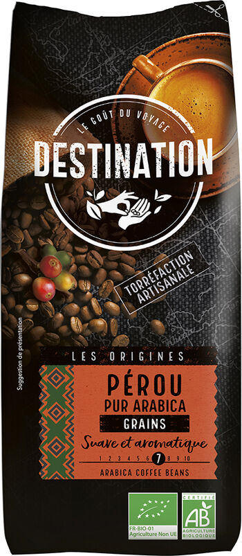 Bio káva zrnková Peru Destination 1 kg