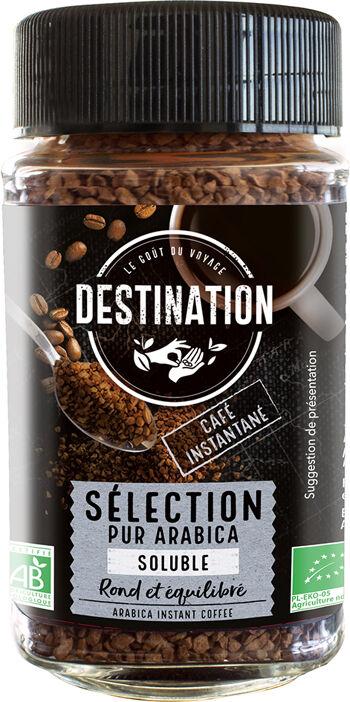 Bio instantní káva 100% arabika Destination 100 g