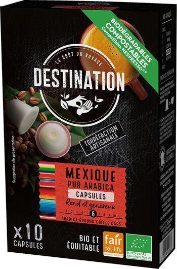 Bio kávové kapsle Mexiko Destination 10 ks