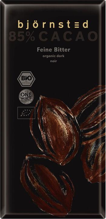 Bio hořká  čokoláda 85% björnsted 100 g