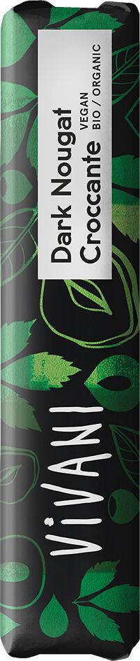 Bio nugátová čoko tyčinka s oříšky VIVANI 35 g