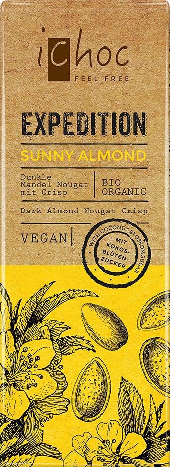 Bio Sunny Almond Expedition iChoc 50 g
