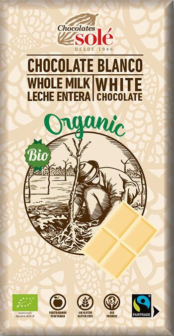 Bio bílá čokoláda SOLÉ 100 g
