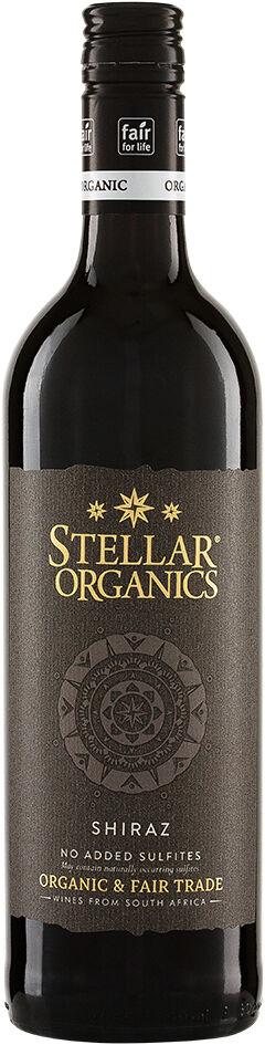 Bio Syrah nesířené červené Stellar Organics 0,75 l