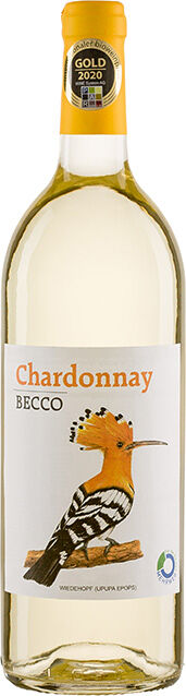 Bio Chardonnay bílé BECCO 1 l