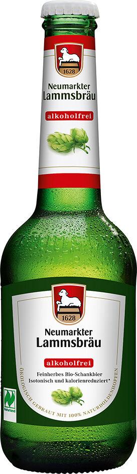 Bio pivo nealkoholické Lammsbräu 330 ml