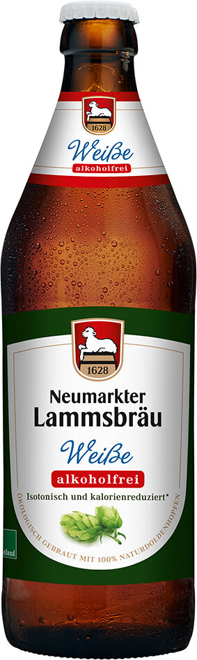 Bio Weisse nealkoholické Lammsbräu 500 ml