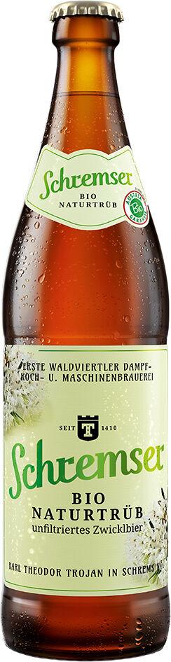 Bio nefiltrované pivo SCHREMSER 500 ml