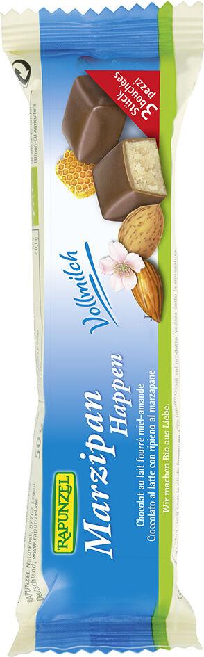 Bio marcipán v mléčné čokoládě RAPUNZEL 50 g