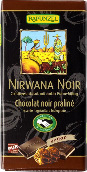 Bio čokoláda NIRWANA HOŘKÁ RAPUNZEL 100 g