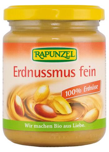 Bio 100% arašídová pasta jemná RAPUNZEL 250 g