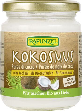 Bio 100% kokosová pasta RAPUNZEL 215 g