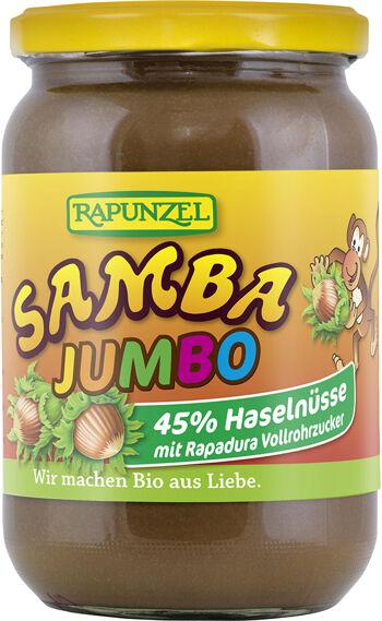 Bio jumbo SAMBA: oříšková pomazánka RAPUNZEL 750 g