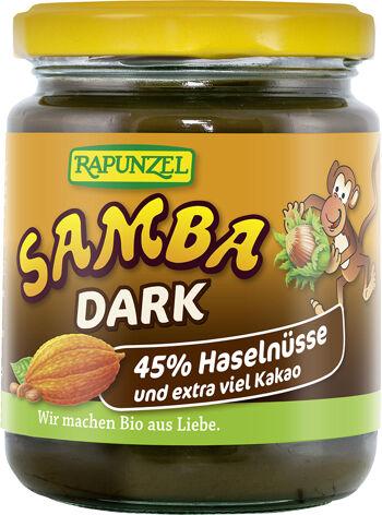 Bio SAMBA DARK: oříšková pomazánka RAPUNZEL 250 g