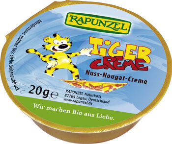 Bio mini TYGR: nugátová pomazánka RAPUNZEL 20 g