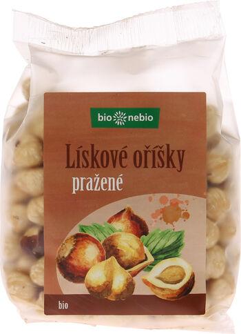 Bio lískové oříšky pražené bio*nebio 200 g