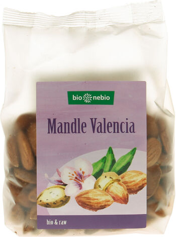 Bio mandle VALENCIA bio*nebio 200 g