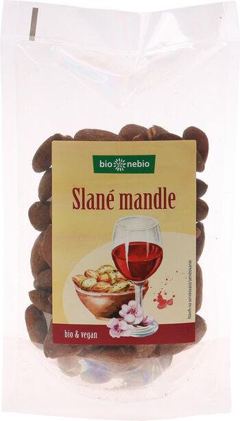 Bio slané mandle pražené bio*nebio 100 g