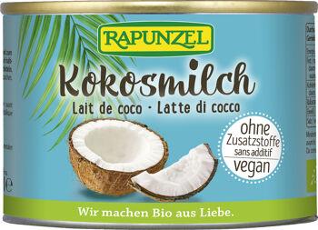 Bio kokosové mléko RAPUNZEL 200 ml