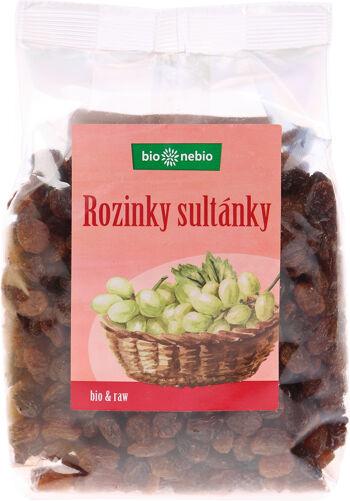 Bio rozinky sultánky bio*nebio 400 g