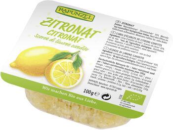 Bio kandovaná citrónová kůra RAPUNZEL 100 g