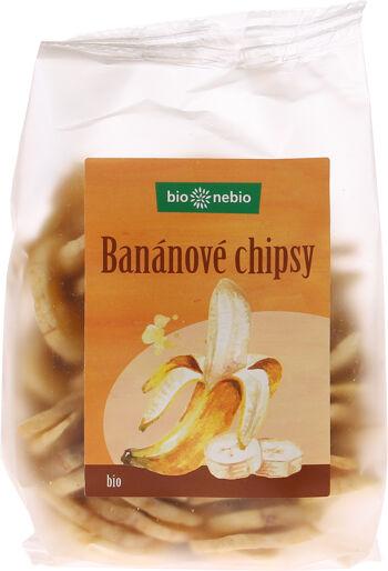 Bio banánové chipsy bio*nebio 150 g