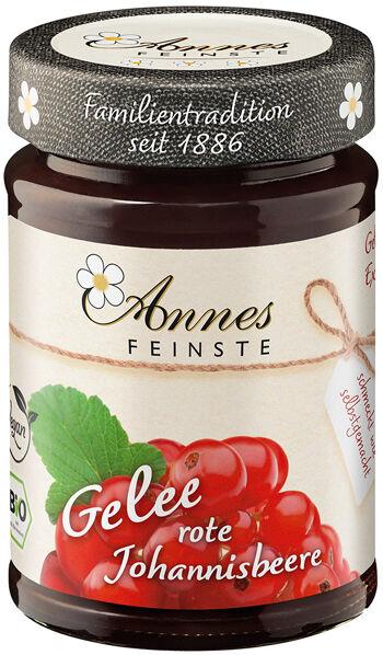 Bio džem z červeného rybízu výběrový Annes Feinste 225 g