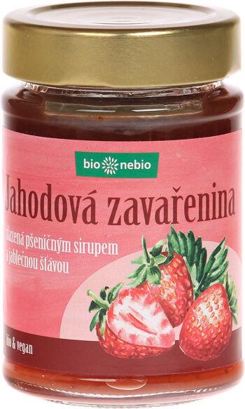 Bio Jahody - zavařenina s jablečnou šťávou bio*nebio 200 g