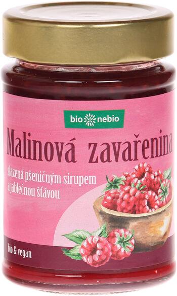 Bio Maliny - zavařenina s jablečnou šťávou bio*nebio 200 g