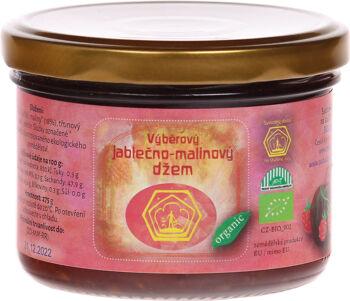 Bio jablečno-malinový džem Svobodný statek na soutoku 260 g