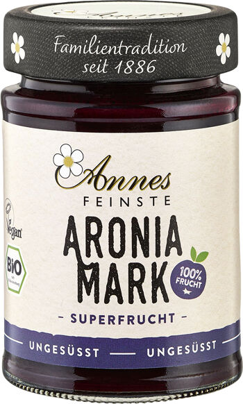 Bio aróniové pyré 100% Annes Feinste 190 g