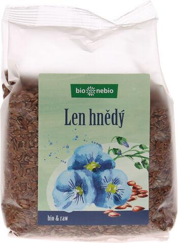 Bio lněné semínko bio*nebio 300 g