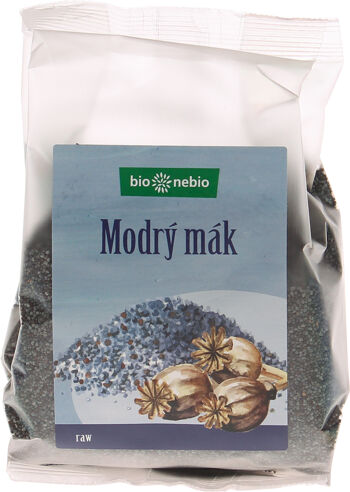 Mák modrý český bio*nebio 200 g