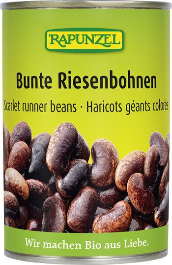 Bio obří fazole sterilované RAPUNZEL 400 g