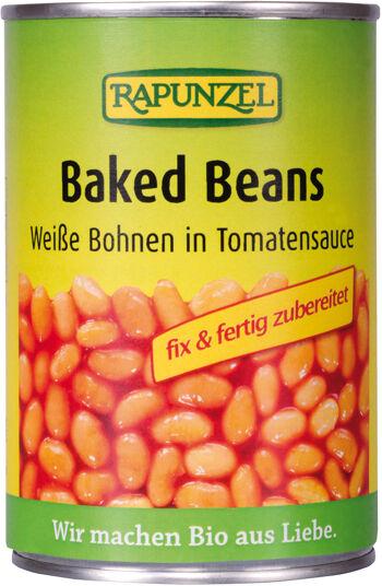 Bio pečené fazole RAPUNZEL 400 g
